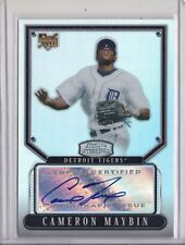 2007 Bowman Sterling Refractor Autograph Camron Maybin 122/199