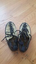 Mad rock climbing shoes sz 7 ladies, krieg chalk bag, black diamond belay device
