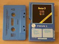 FOCUS 3 - Cassette Tape USA RARE SIRE 1972