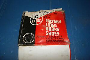 Morris Marina Front brake shoes
