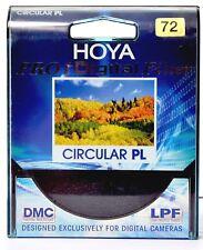HOYA ORIGINAL 72mm PRO1 DMC DIGITAL FILTER C- PL  Circular Polarizing Filter