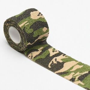 1x Outdoor Camo Gun Hunting Camouflage Stealth Duct Tape Wrap Waterproof Camping