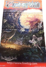 Force of Will FOW TCG A3 Yggdrasil the World Tree ORIGINAL WALL BANNER NEW