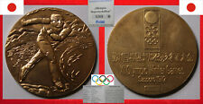 OLYMPISCHE SPIELE XI. OLYMPIC WINTER GAMES MEDAL Ø 50mm JAPAN NIHON SAPPORO 1972
