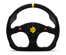 MOMO Steering Wheel Mod 30 with Buttons Black Suede 320mm NEW R1960/32SHB