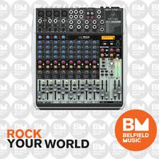 Behringer XENYX QX1622USB Mixer Small Format 16 Input w/Multi FX Audio Interface