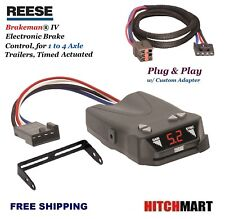 REESE TRAILER BRAKE CONTROL & ADAPTER FOR FORD LINCOLN MERCURY LAND ROVER