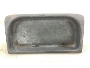 94-95 Accord DX Center Console Tray Pocket Coin Holder Gray Used OEM