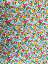 Makower UK 1945 Fruity Friends Floral Zest Cotton Fabric By the Half Metre
