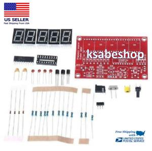 DIY 1Hz-50MHz Digital LED Crystal Oscillator Frequency Counter Meter Tester Kit