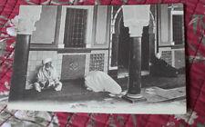 CPA Dans la mosquée hommes musulman en prière  Afrique