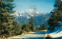 Postcard Highway To Idyllwild, Posted 1957