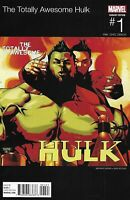Totally Awesome Hulk Comic Issue 1 Limited Hip-Hop Variant Modern Age 2016 Pak