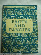 Facts & Fancies #3 Children's Poetry for Pleasure ed Ian Parsons pb 1959 A70