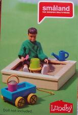Sandkasten Sandbox Spielzeug Puppenhaus Lundby 2015
