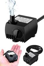 Small Submersible Water Pump for Fountains Aquarium Fish Tank Ponds Hydroponics