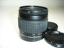 Nikon Zoom-NIKKOR 28-80mm f/3.3-5.6 AF G Lens Black. works good!  SN US2076558