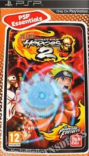 Naruto Ultimate Ninja Heroes 2 PSP Brand New Factory Sealed