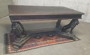 Spektakulär Tabelle Renaissance Mit Löwen Fine 800