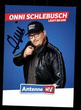 Onni Schlebusch Autogrammkarte Original Signiert # BC 110134