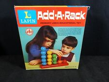Vintage Lapin Add-A-Rack Primary Logic Educational Toy No. 200