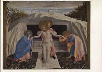 Alte Kunstpostkarte - Die Grablegung Christi von Fra Angelico