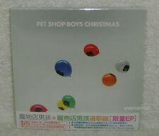 Pet Shop Boys Christmas 2009 Taiwan EP CD w/OBI Madness