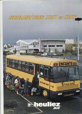 N°9192 / HEULIEZ : dépliant scolair'bus X57 et X97