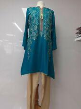 Pakistani linen 2pcs suit salwar kameez stitched Size S/M/L