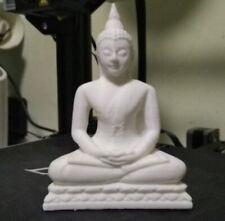 Praying THAI BUDDHA Sitting Ornament Statue Sculpture MEDITATING 3d Printed