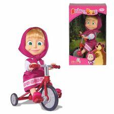 Masha et Michka - Masha and the Bear - Poupée Masha avec Tricycle Originale 12cm