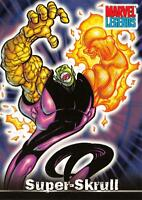 SUPER-SKRULL / Marvel Legends (Topps 2001) BASE Trading Card #56