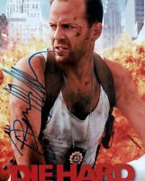 BRUCE WILLIS DEMI MOORE Cast Signed Autographed Reprint 10x8 Photo