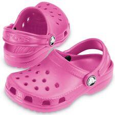 Crocs Kid's Classic Crocs Pink Sizes UK Infant 6 - Junior 3