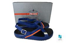 New In Box Authentic PRADA Mens Sandals Shoes Sz US11 EU44 UK10 Model 4X3092