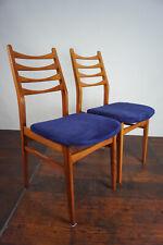 60er Retro Esszimmer Stuhl Designer Sessel Vintage Mid-Century Holz 1/2
