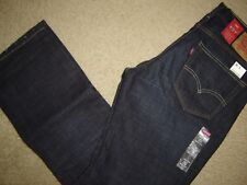 NWT Levi's 527 jeans 34 x 30 Slim Fit Boot Cut Retail $60   Style # 05527-0490