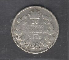 1935 KING GEORGE V 10¢ SILVER DIME IN NICE CONDITION 0.80 SILVER