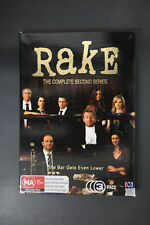 RAKE – THE COMPLETE SERIES 2 (DVD, 3-DISCS BOX SET)   - VGC Pre-owned (D119)