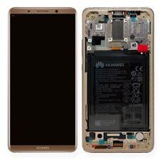 Huawei Pantalla LCD Unidad Marco para mate 10 Pro Servicio embalar 02351rqm oro