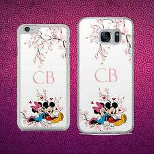 DISNEY PERSONALISED MICKEY AND MINNIE MOUSE Phone Case Cover for iPhone Samsung