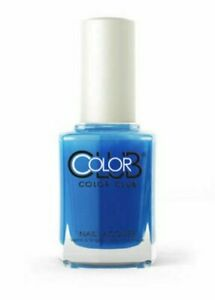 Color Club Nail Polish 0.5 oz NR19 OUT OF THE BLUE