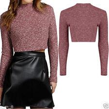 Maglie e camicie da donna a manica lunga elasticizzato taglia 42