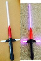 LIGHT UP CROSS SWORD W FLAMES /& SOUND boy saber toy swords 29 INCHES LONG NEW