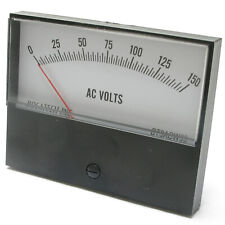 Panel Meter, 0 - 150 AC Volt Meter. 95 x 75mm