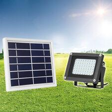 solar betrieben 54 LED Außenbereich Garten Landschaft HOF STRAHLER LICHT LAMPE