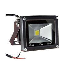 GLW 12V-24V AC or DC LED Flood Light,10W Mini IP65 Waterproof Outdoor Light,9...
