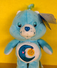 "Bedtime Care Bears New 8"" Talking 2003 New Bear Stuffed Animal Plush Toy Blue"