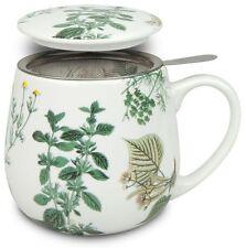 Teetasse mit Sieb und Deckel My favourite tea Kräuter Könitz