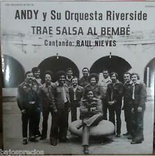 RARE salsa LP  ANDY & LA ORQ. RIVERSIDE trae salsa al bembe cantando Raul Nieves